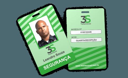 Cracha Com Dados Variaveis Grafica Atual Card